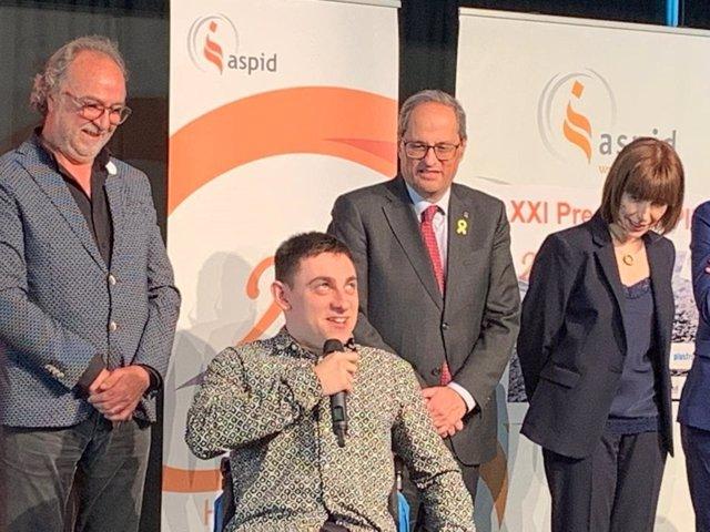 """Torra preveu """"signar decrets de subvencions"""" per recolzar als discapacitats"""