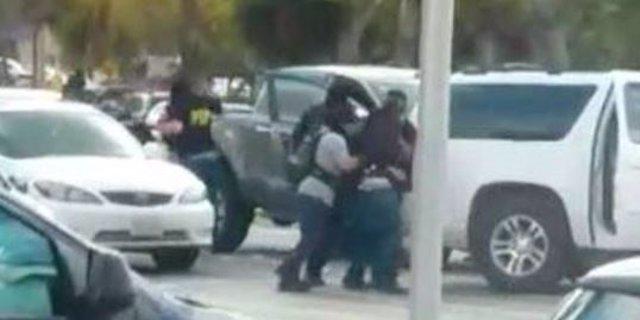Filtran el vídeo del momento del secuestro de los hijos del narcotraficante mexi