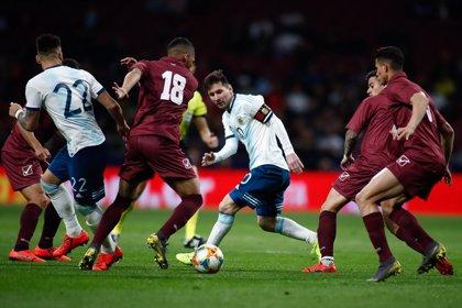 Messi no basta y Venezuela golea a Argentina
