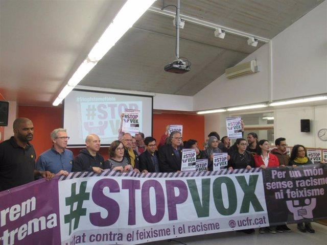 Convoquen una manifestació contra Vox aquest dissabte a Barcelona