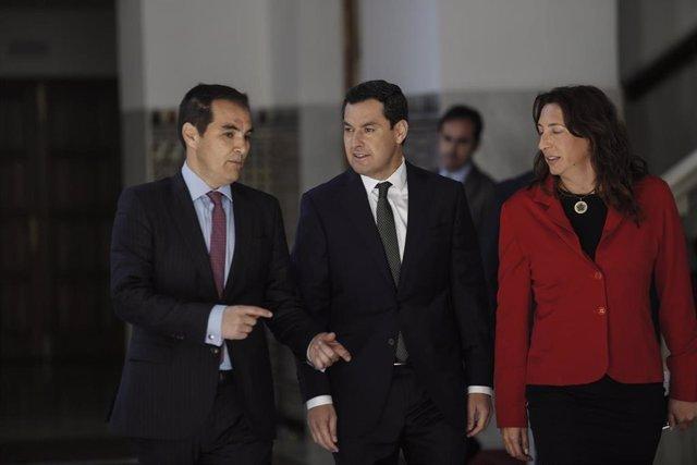 Sesión de control al Gobierno de la Junta de Andalucía