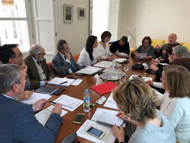 Cádiz.- Educación.- El delegado territorial recoge propuestas de la nueva la Jun