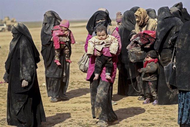 Siria.- Más de 60.000 personas han huido del último enclave del Estado Islámico