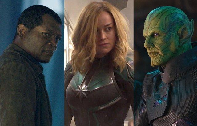 PARA SÁBADO 6 agujeros de guión de Capitana Marvel