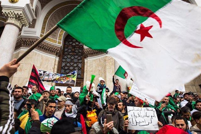 Demonstrations in Algiers