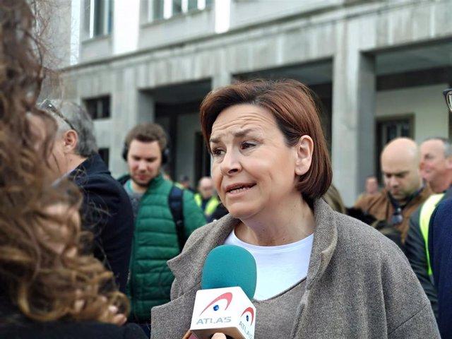 La presidenta de Foro y candidata a la presidencia dle Principado, Carmen Moriyó