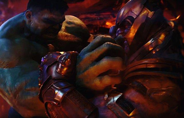 Vengadores Endgame: ¿Confirmada la revancha entre Hulk y Thanos?