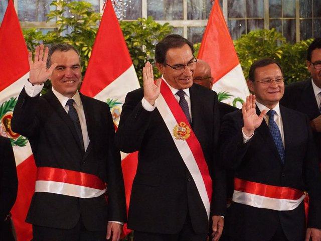Cabinet reshuffle in Peru