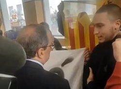 El CDR de Sabadell (Barcelona) critica Torra en un acte perquè