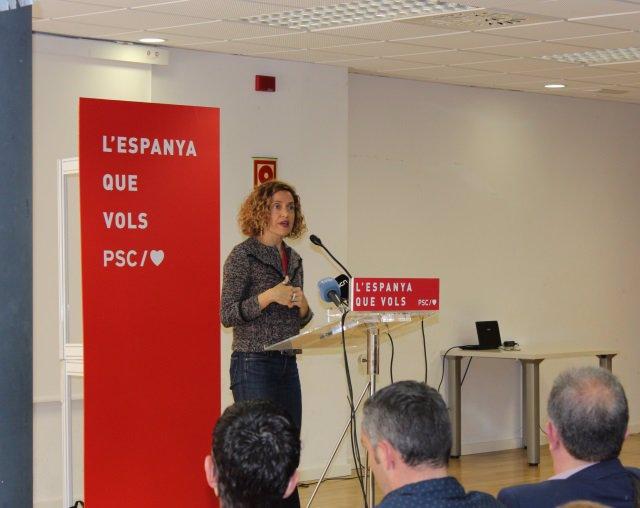 """28A.- Batet (PSC) Diu Que Els Llaos """"No Paguen Factures"""" I Demana Dir Prou A la"""