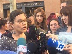 Natàlia Sànchez (CUP) demana als demòcrates fer un front antifeixista (CUP)