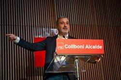 Collboni (PSC) promet impulsar un pacte contra la precarietat laboral si és alcalde a Barcelona (David Zorrakino - Europa Press)