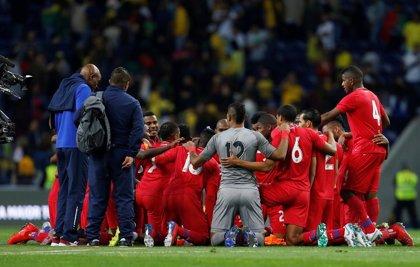 Brasil no puede con una Panamá eufórica