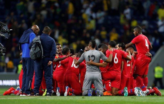 Fútbol/Amistoso.- Brasil no pude con  Panamá
