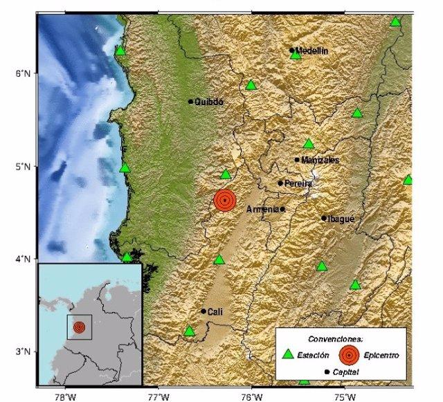 Un sismo de 6.1 sacude varias zonas de Colombia sin dejar víctimas mortales
