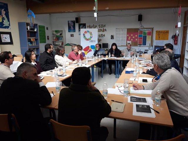 Málaga.- Colectivos de la provincia debaten para crear sinergias contra el despo
