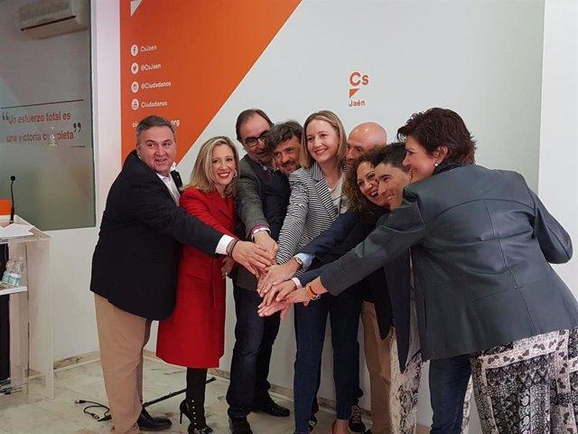 """Jaén.- Cs presenta su candidatura al Congreso y al Senado """"comprometida y centra"""