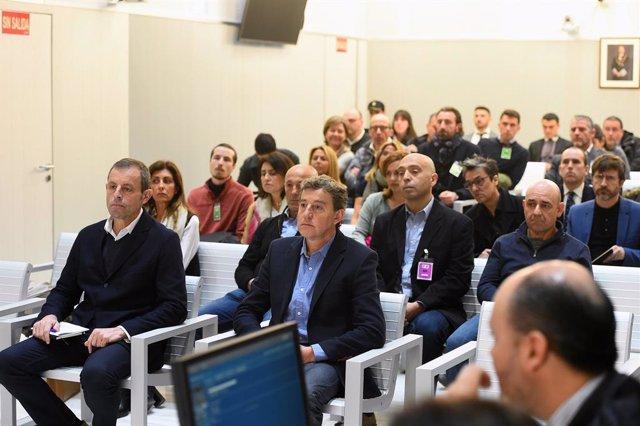 AMP.- Fiscalia demana finalment sis anys de presó i una multa de 60 milions d'eu