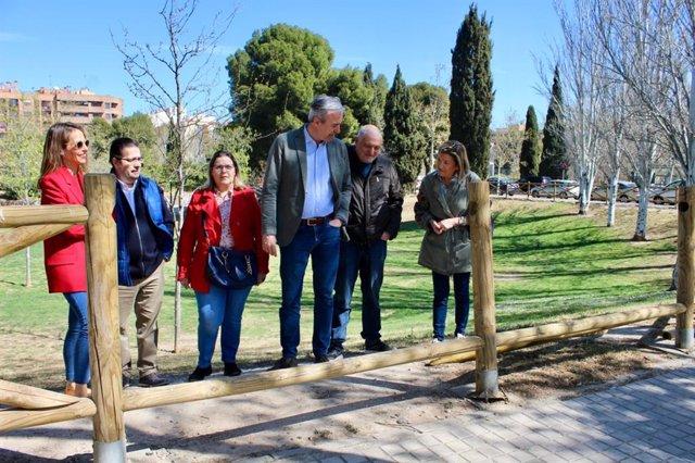 """Azcón (PP) afirma que los parques de la ciudad están """"hechos un desastre"""""""