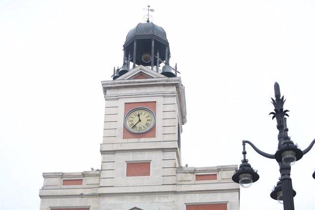 Rellotge de la Porta del Sol de Madrid, campanada