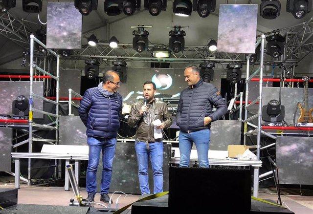 Almería.- El concejal de Cultura, Carlos Sánchez, ofrece el pregón de Carnaval d