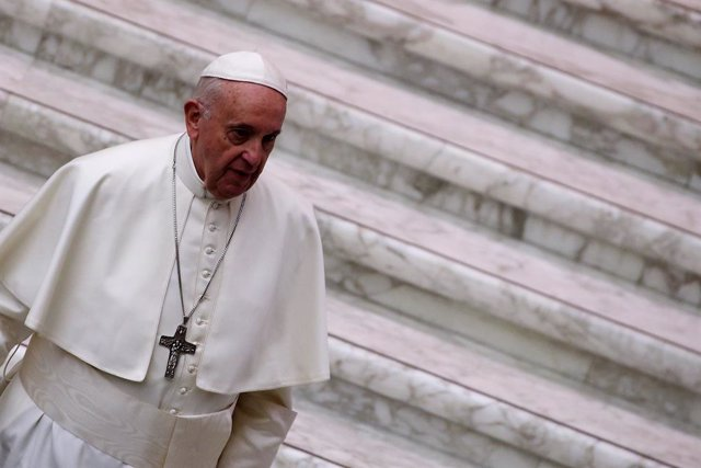 Pope Francis audiance in Vatican