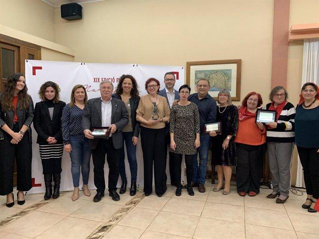 AMP.- Cladera defensa la lluita feminista en l'acte d'entrega del XIX Premi