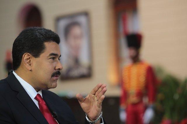 El presidente venezolano, Nicolás Maduro