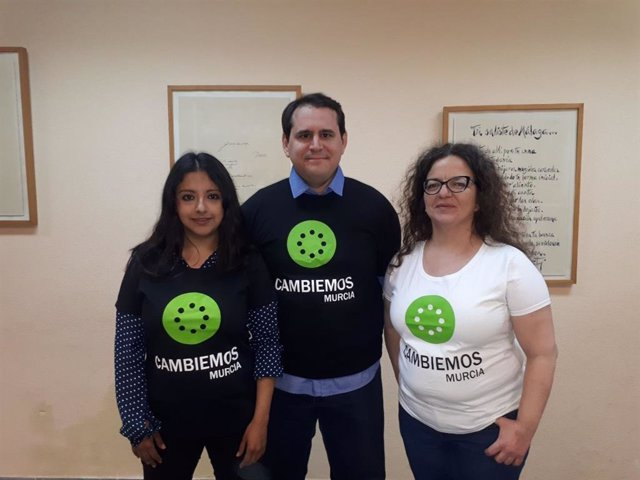 Sergio Ramos, Margarita Guerrero y Mercedes Nicolás encabezan la candidatura de
