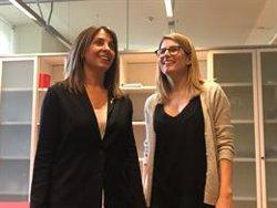 Artadi traspassa la cartera de Presidència a Budó i li mostra el seu nou despatx a la Generalitat (EUROPA PRESS)