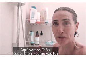 La ministra chilena de Medio Ambiente lanza un reto desde la ducha