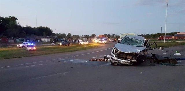 Al menos nueve muertos y siete heridos en un trágico accidente de tráfico en la