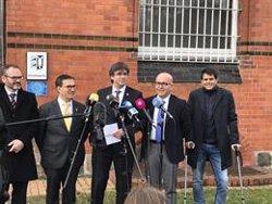 Puigdemont remarca que la seva immunitat si és eurodiputat dependrà de la justícia europea (@CUEVILLAS_JACS)