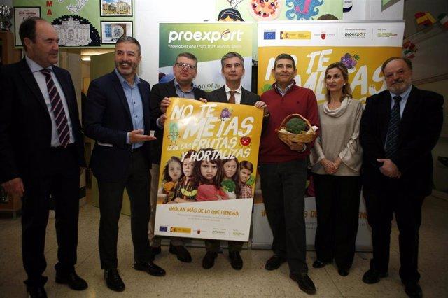 *426 Centros Educativos De La Región De Murcia Participan En El Programa Escolar