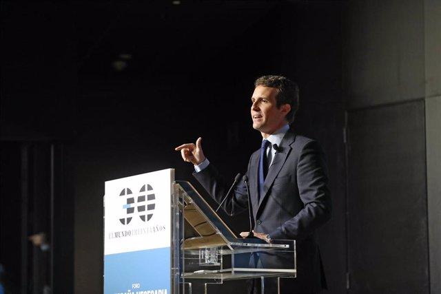 Celebración del Foro 'La España necesaria' organizado por el periódico 'El Mundo