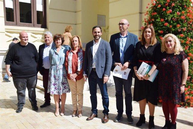Málaga.- PSOE, Málaga Ahora y Málaga para la Gente censurarán al alcalde por su