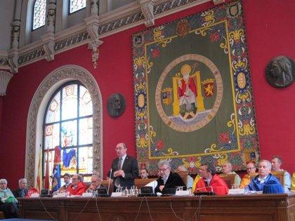 Lambán subraya el apoyo esta legislatura a la UZ en financiación, promoción del talento e innovación