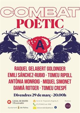 """Cort organitza un """"combat poètic"""" amb set artistes aquest divendres en s'Escorxa"""