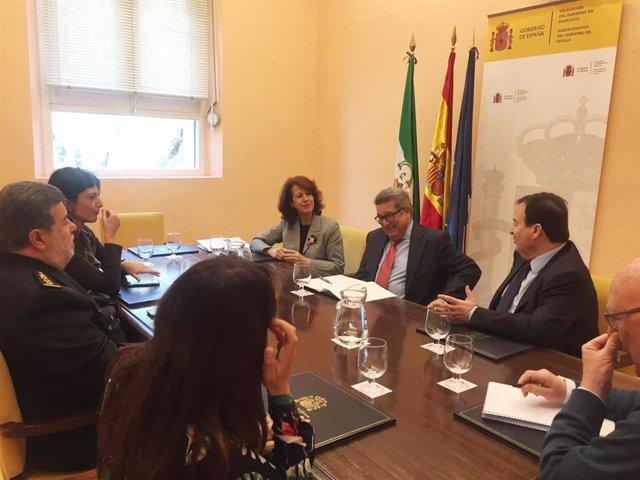 Sevilla.- Constituido el grupo de trabajo para luchar contra el tráfico y el con