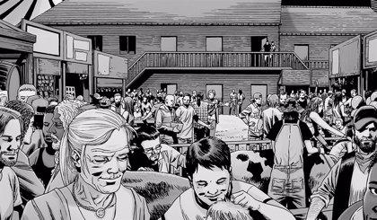 The Walking Dead: Las víctimas de Alpha en la Feria... en los cómics