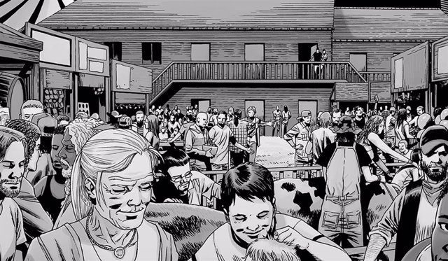 The Walking Dead: Estas son las víctimas de Alpha en la Feria... En los cómics