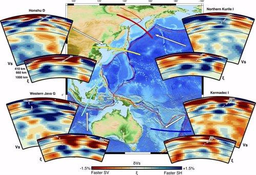 El manto interior de la Tierra fluye dinámicamente