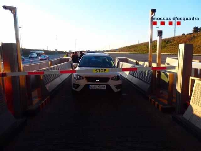 Sucesos.- Detenido por conducir nueve kilómetros en contra dirección por la A-2