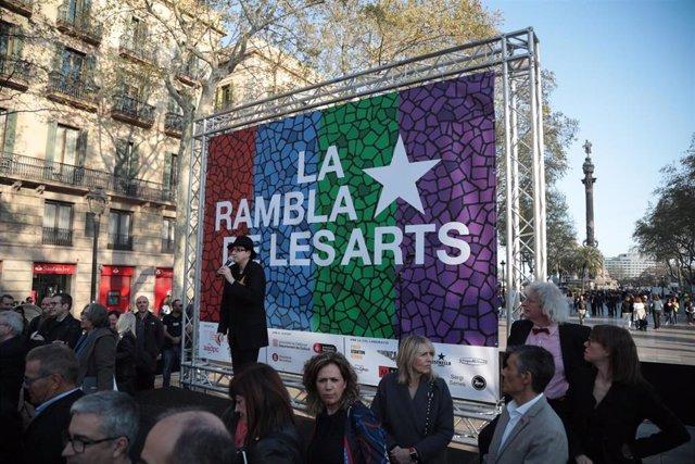Adecta impulsa 'La Rambla de les Arts' inspirándose en el paseo de la fama de Ho