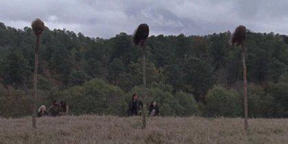 Los jefes de The Walking Dead justifican la elección de las víctimas de Alpha en el 9x15