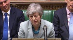 El Parlament arrabassa el timó del Brexit a May amb la dimissió de tres membres del seu Govern (-/House Of Commons via PA Wire/d / DPA)