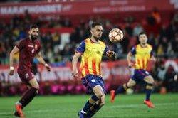La nova Catalunya derrota una desafortunada Veneçuela en la festa de Montilivi (2-1) (FCF)