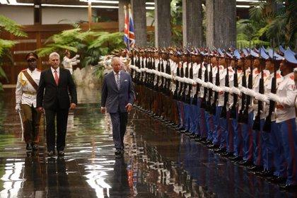 Así está siendo la visita del príncipe Carlos de Inglaterra por La Habana