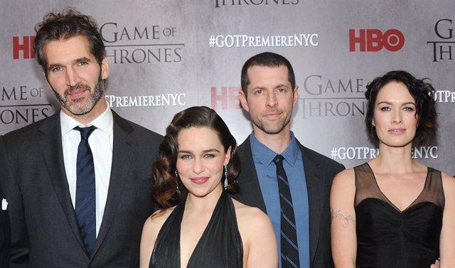 Los creadores de Juego de tronos, galardonados con el Emmy Internacional Honoríf