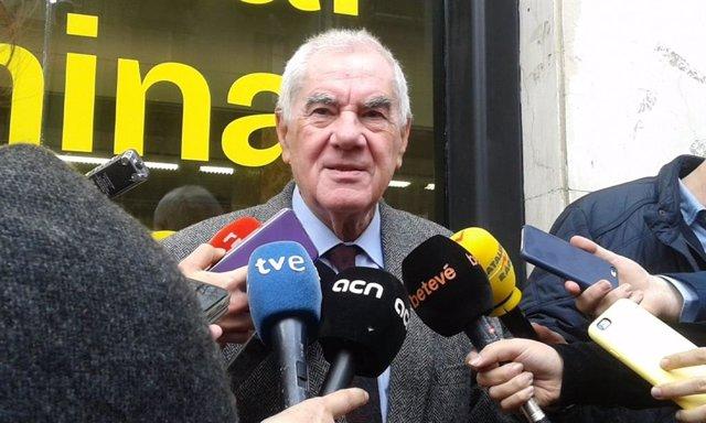 """28A.- Maragall (ERC) veu en la petició de retirar llaos grocs una """"autoacusa"""